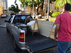 Grupo decidiu deixar Prefeitura de Ribeirão após reunião na sexta (Foto: Leandro Mata/G1)