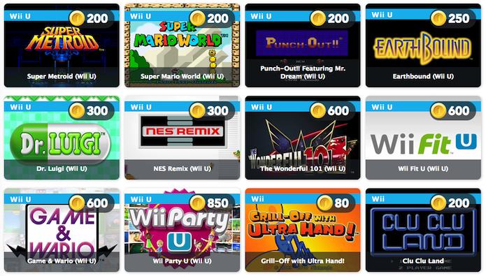 Nintendo Club: veja os 100 jogos que estão grátis (Foto: Reprodução)