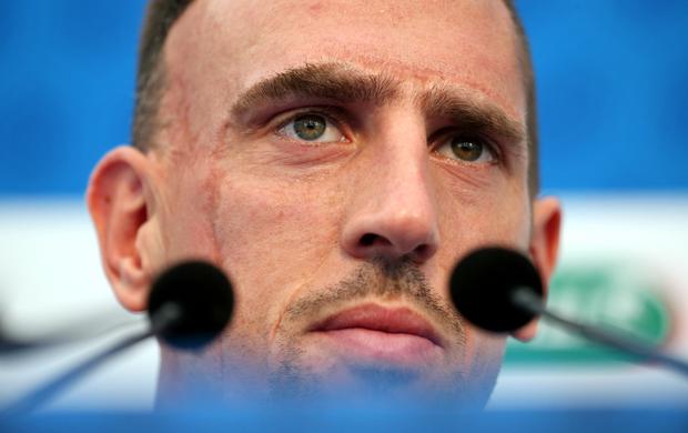 Franck Ribéry França (Foto: AFP)