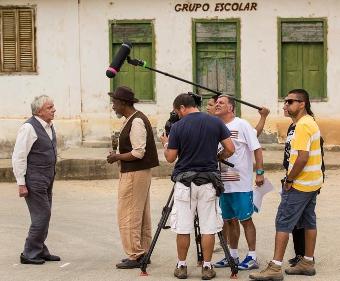 Jorge Fernando comanda cena de Marco Nanini em 'Êta mundo bom' (Foto: Inácio Moraes/Gshow)