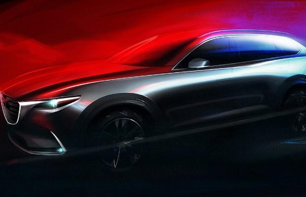 Teaser do Mazda CX-9 (Foto: Divulgação)