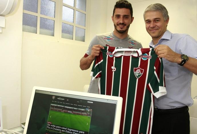 Marquinho Peter Siemsen Fluminense (Foto: Nelson Perez/Fluminense)