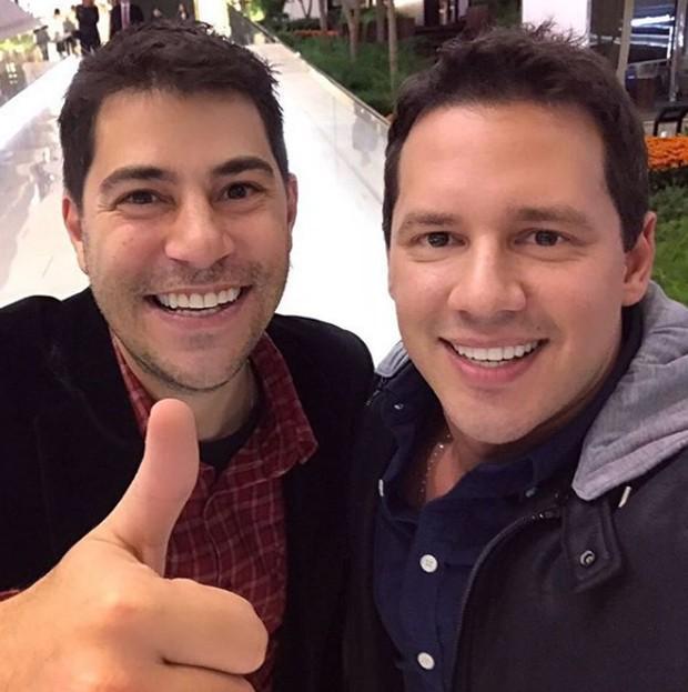 Evaristo Costa e Dony de Nuccio (Foto: Reprodução/Instagram)