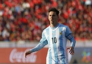 Messi Argentina x Chile Copa América (Foto: Reuters)