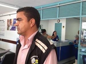 Conselheiro tutelar visitou bebê intoxicado por fumaça no Hospital Materno Infantil em Goiânia (Foto: Luísa Gomes/G1)