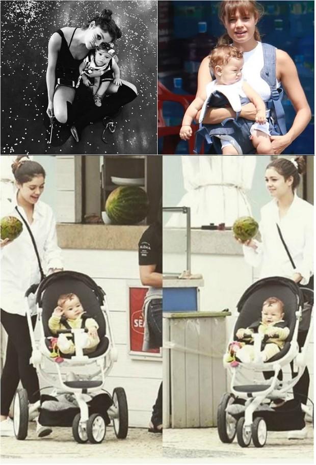 Sophie Charlotte fala sobre maternidade:  Foi um ano de muita entrega e simbiose total. E amamentação contínua (Foto: Reprodução do Instagram e Ag. News)