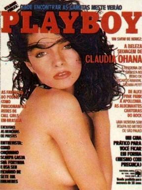 Galeria vertical - Playboy Claudia Ohana (Foto: Reprodução)