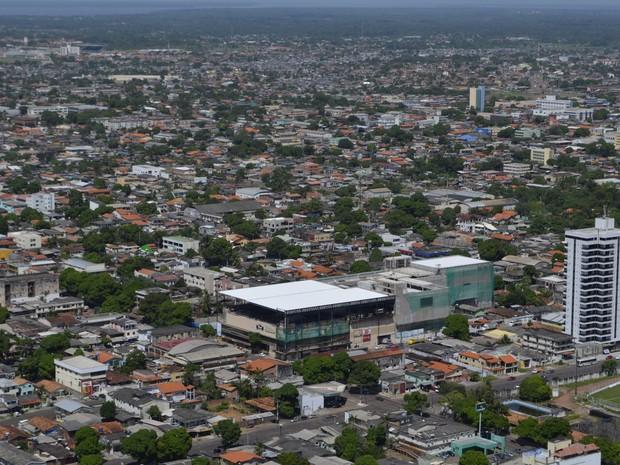 IBGE calcula que estimativa da população de Macapá é de 437.256 habitantes (Foto: Abinoan Santiago/G1)