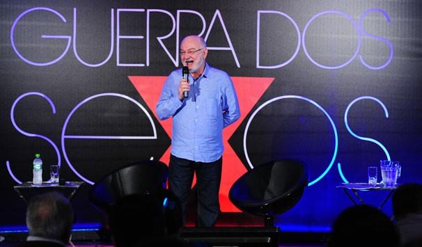 Silvio de Abreu apresenta a nova versão de Guerra dos Sexos: 'É uma nova novela' (Foto: João Miguel Jr./ TV Globo)
