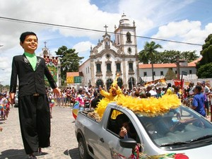 Carnaval em Marechal atrai centenas de pessoas.  (Foto: Divulgação/ Ascom)