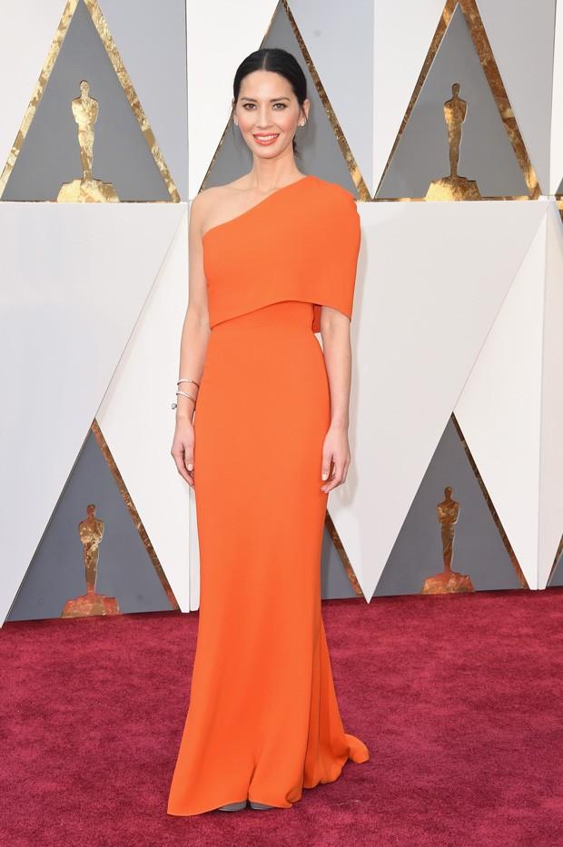 Oscar 2016 - Olivia Munn (Foto: GNT)