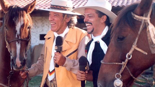 Nico Fagundes e Neto Fagundes (Foto: Divulgação/RBS TV)