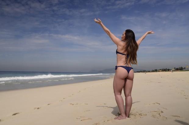 Núbia Óliiver (Foto: Roberto Teixeira / EGO)