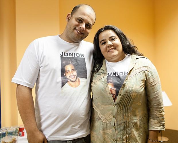 Famila; junior; materia (Foto: Camila Serejo / TV Globo)