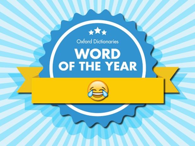 Oxford elege o 'emoji' que representa o 'rosto com lágrimas de alegria' como a 'palavra do ano' de 2015 (Foto: Reprodução/Oxford Dictionaries)