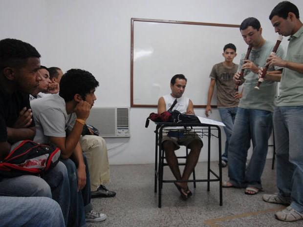 Exames habilitatório em música será realizados em três campi da Uepa no Pará. (Foto: Paula Sampaio/O Liberal)