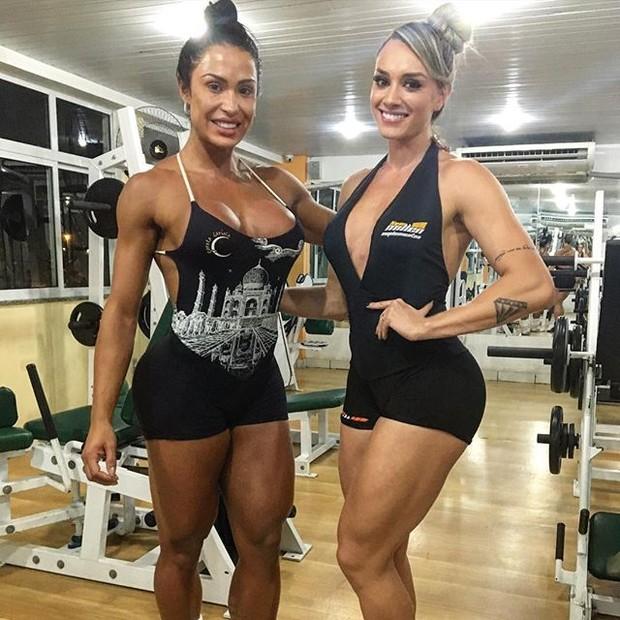 Gracyanne Barbosa e Juju Salimeni (Foto: Reprodução/Instagram)
