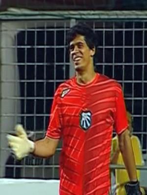 Caldense arranca empate do América-MG no Independência (Foto: Reprodução Premiere)