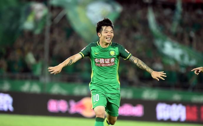 Zhang Xizhe Beijing Guoan (Foto: Reprodução/Sina.com)
