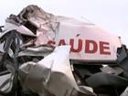 Vítima de acidente de ambulância levava sobrinha para tratamento