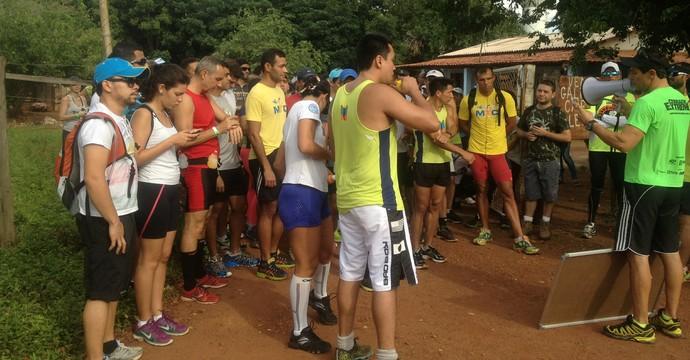 Várias pessoas participam do Cerrado Extreme  (Foto: Edson Reis/GloboEsporte.com)