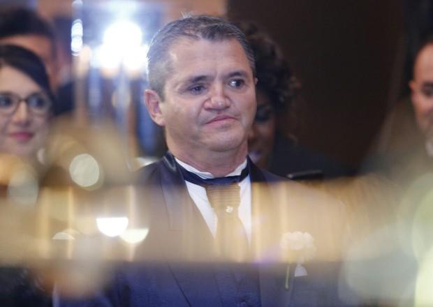 O noivo de Angélica Ramos, o empresário francês Laurent Mougeout (Foto: Ricardo Cardoso/Ed. Globo)