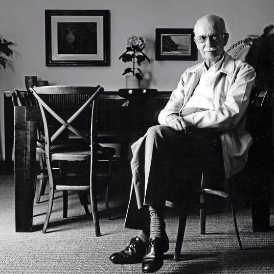O professor Antonio Candido em foto de 2005.O Brasil perdeu um de seus maiores intelectuais (Foto: Juan Esteves)