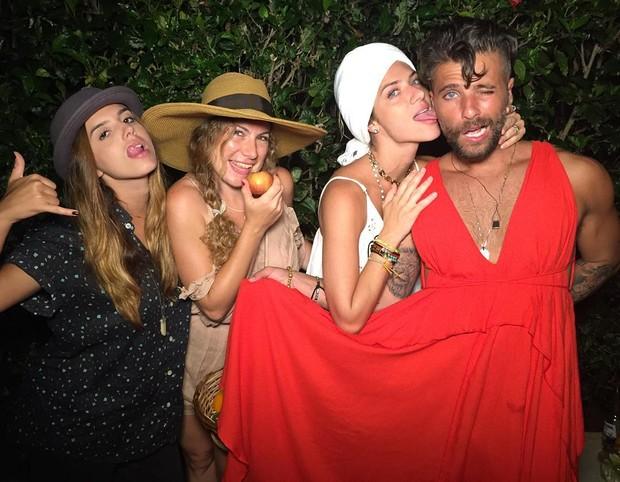 Bruno Gagliasso conta que roubou vestido de Giovanna Ewbank (Foto: Instagram / Reprodução)
