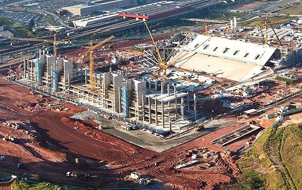 Obras arena S&#227;o Paulo (Foto: Divulga&#231;&#227;o / Site oficial da Fifa)
