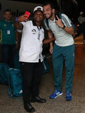 Edu Dracena Dudu Palmeiras (Foto: Cesar Greco / Fotoarena)