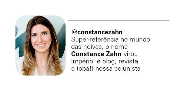 @constancezahn (Foto: Arquivo Pessoal)