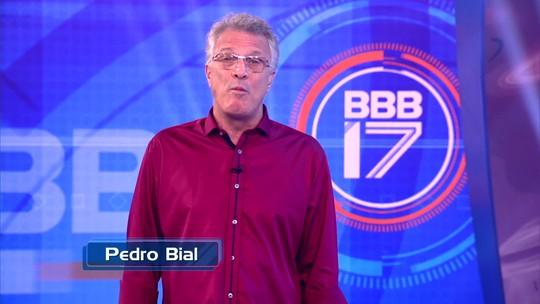 Pedro Bial dá recado sobre as inscrições do 'BBB17': 'Você pode brilhar'