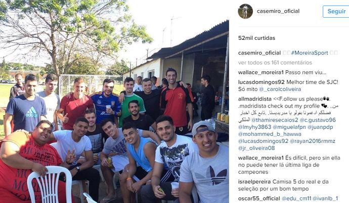 Casemiro Moreira São José (Foto: Reprodução/ Instagram)