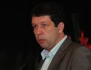 Maurício Duque, presidente do Rio Branco-ES (Foto: Gabriel Lordêllo/Jornal A Gazeta)