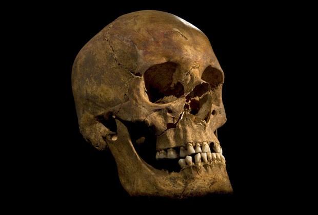 Pesquisadores descobriram que crânio encontrado pertencia ao rei Ricardo III (Foto: University of Leicester/Reuters)