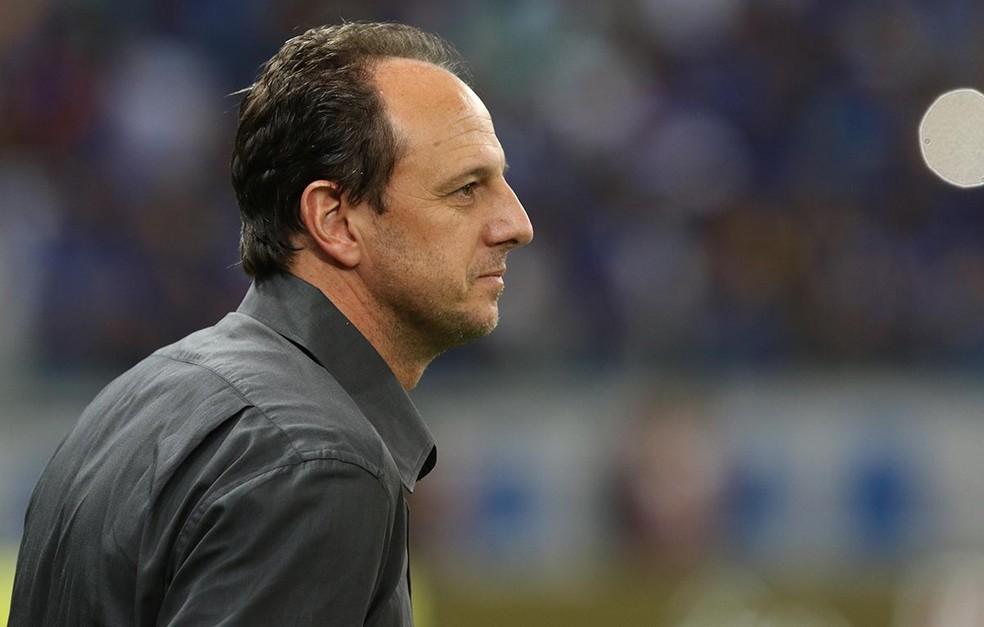 Rogério Ceni valorizou entrega do São Paulo até o fim contra o Cruzeiro (Foto: Rubens Chiri / saopaulofc.net)