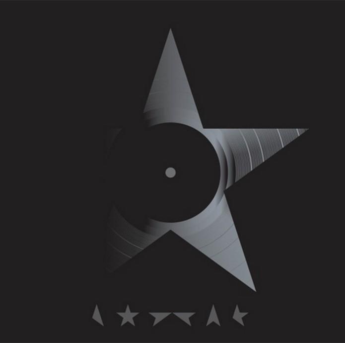 Versão para o vinil do álbum Blackstar de David Bowie (Foto: Divulgação)