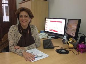 Secretária de Licenciamento Paula Motta (Foto: Tatiana Santiago/G1)