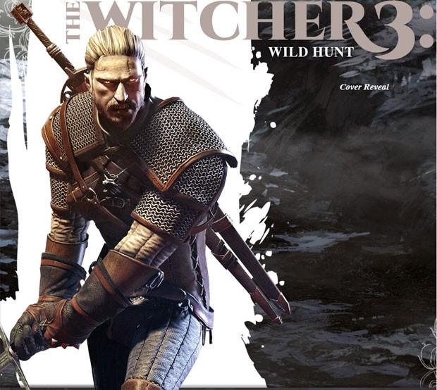 Imagem de 'The Witcher 3' publicada pela revista 'GameInformer' mostra personagem do game (Foto: Reprodução)
