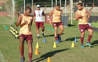 Eron, Sávio, Ivan e Sidnei voltam aos treinos na Tiva, mas Cássio segue fora