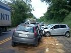 Seis pessoas ficam feridas em acidente na BR-101 em Iconha, ES