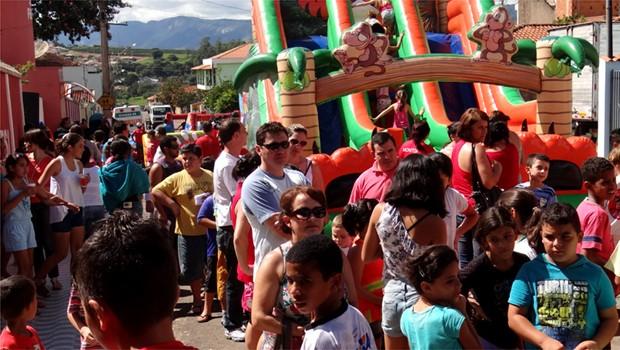 Projeto visa promover ações de bem estar e entretenimento à população (Foto: Rodrigo Rossi)
