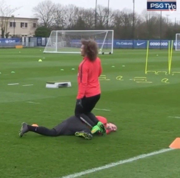 David Luiz e Ibra