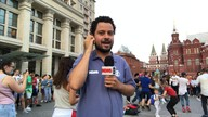 Russos estão mais comunicativos na Copa do Mundo