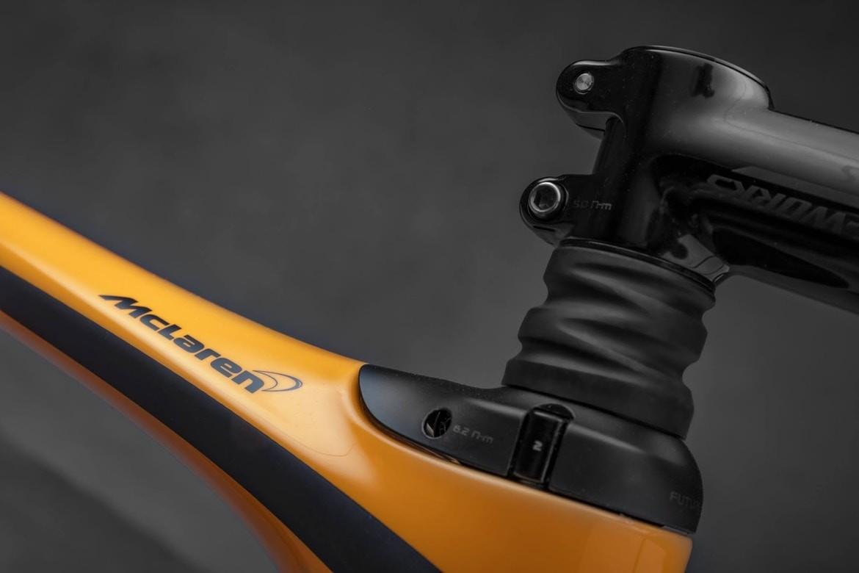 A S-Works Roubaix, da McLaren e Specialized (Foto: Divulgação)