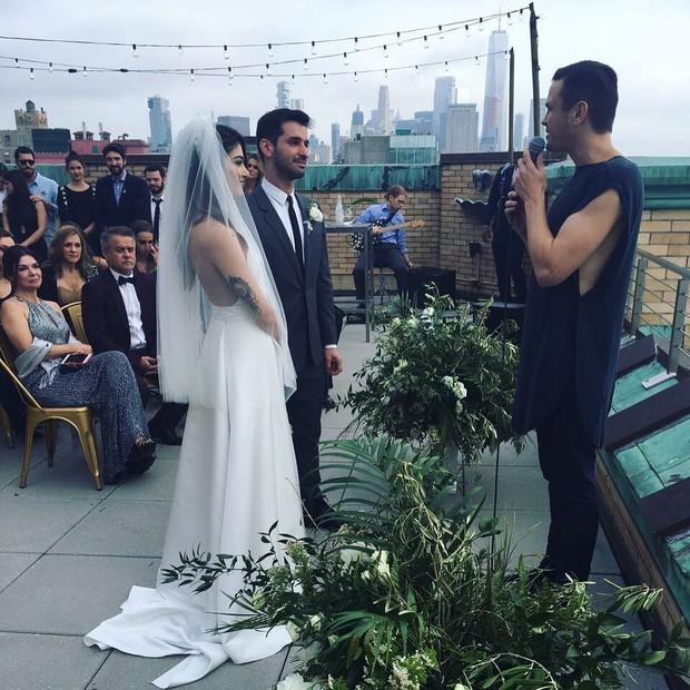 Casamento de Lívia Facirolli e Rafael Capobianco (Foto: Reprodução/Instagram)