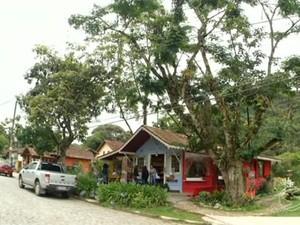 Visconde de Mauá, em Resende (Foto: Reprodução/TV Rio Sul)