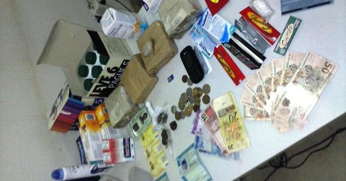 Homem é preso levando 4 quilos de drogas em carro blindado em MG - Globo.com