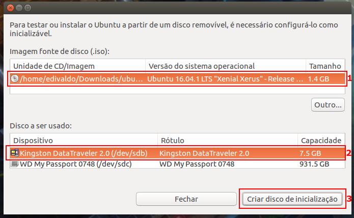criar pendrive boot windows 7 usando linux