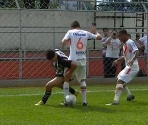 Rafael, do Ceará, é o abusado da Copinha (Foto: Reprodução SporTV)